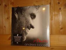 ANDREA BOCELLI Amore Audiophile SUGAR UNIVERSAL 2x 180g LP NEW SEALED ED1