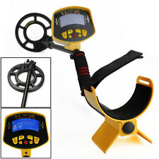 Deep Ground Sensitive Metal Detector Light Hunter MD3010II Digger Waterproof LCD