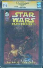 Star Wars Dark Empire II 5 CGC SS 9.6 Dave Dorman 1st Solo Twins Jacen Jaina