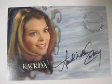 Buffy Tvs - Sea 6 - Amelinda Embry As Katrina Auto Card A38 - Bv$35