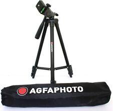 "AGFAPHOTO 50"" Pro Tripod With Case For Fujifilm Finepix S4200 S4300"
