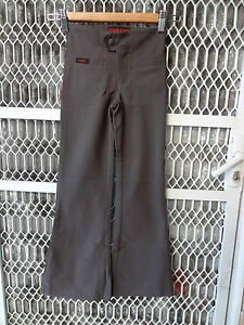 Girl size grey stretch pant for school uniform or casual size 4,16 instock