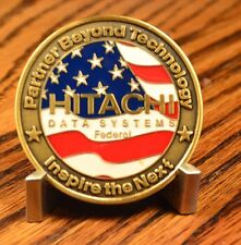 Hitachi Data Systems Defenders of Freedom Challenge Coin x