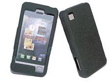 Crystal Case Handy Hülle Cover Case Schale Schutz  in Schwarz  für  LG GD510 Pop