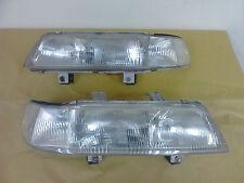 JDM EF HONDA CIVIC EF2 4Doors SEDAN 1piece HEADLIGHTS SH4 Clear Lights Lamp OEM