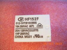 Hf152f/012-1ht 16a 250vac forma a 4pin Hongfa