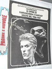 EDITRICE NORD - CATALOGO fantascienza e fantasy 1986-1987