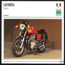 Cloth Patch Laverda Alpino 1000  Motocycle Embroidered Badge