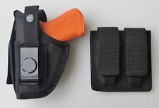 Gun Holster Double Mag Pouch Combo for RUGER SR22 with Underbarrel Laser