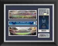 Champions League Final 2013 Ticket Display Frame Bayern Munich v Dortmund
