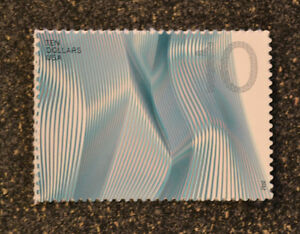 2012USA #4720 $10.00 Waves of Color - Blue  -  Mint  NH  ten dollars 10