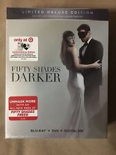 Fifty Shades Darker Target Exclusive Limited Deluxe Edition Blu + DVD + Dig HD