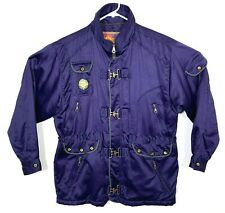 UGO Mens Vintage Felix Lecah Collection Jacket Club Latches Purple Size Large