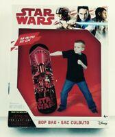 "Hedstrom Star Wars2017 The Last Jedi 48"" Bop Bag Punching Bag In Box EUC"