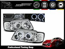 FARI ANTERIORI HEADLIGHTS LPAU06 AUDI A3 8L 1996 1997 1998 1999 2000 ANGEL EYES