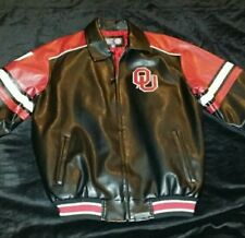 OFFICIAL OKLAHOMA UNIVERSITY COLLEGE JACKET