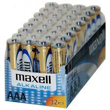 Baterías desechables Maxell AAA para TV y Home Audio