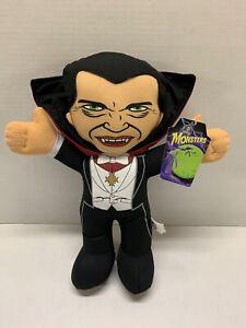 DRACULA!  Universal Monsters  plush toy figure doll w/tag Vampire  Halloween!
