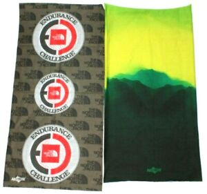 Lot of 2 Hoo-Rags The North Face and Mountain Themes Bandana Neck Gaiters