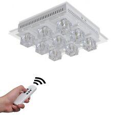 Plafoniera gli impianti di illuminazione lampada a LED cambia colore RGB 9 Paralume in Vetro UK