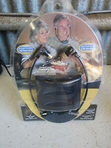 TV Ears Headphones TV Headset System Model 330-0123 New Open Box