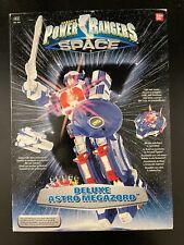 POWER RANGERS SPACE DELUXE ASTRO MEGAZORD BANDAI Complete/Electronics Work