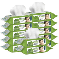 Seventh Generation Thick And Strong Baby Wipes, With Flip Top Dispenser, 768