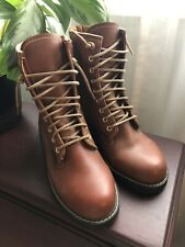 Vintage Boots Unisex Brown Lace Up Insulated Size 5 1/2
