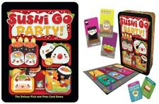 Sushi Go Party Game Deluxe Pick And Pass Multiplayer Card Game By Gamewright