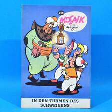 Mosaik 219 Digedags Hannes Hegen Originalheft | DDR | Sammlung original MZ 36
