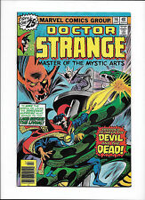 "Doctor Strange #16 [1976 Vg-Fn] ""Trapped Between The Devil & The Dead!"""