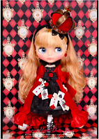 TAKARA TOMY Neo Blythe CWC Limited Majesty of Hearts Doll New Japan Authentic