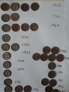 32 X Quarter Dollar Coins