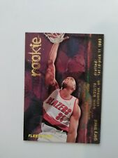 Gary Trent #314 Fleer 95-96 Rookie card
