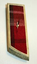 Whisky Cask & Harris Tweed  Wall Clock