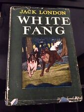 White Fang by Jack London-with Dust Jacket-1933-Collectible
