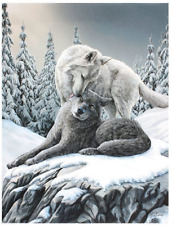 Canvas Print Lisa Parker Snow Kisses 19x25cm