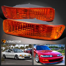 1992-1993 Acura Integra JDM Amber Bumper Lamps Signal Parking Lights Replacement
