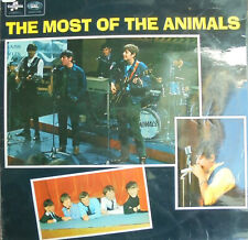 "THE ANIMALS  LP COLUMBIA  ""THE MOST OF THE ANIMALS""    [UK]"