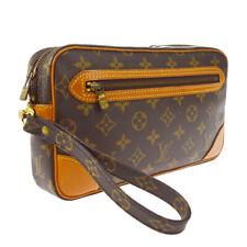 LOUIS VUITTON MARLY DRAGONNE CLUCTH HAND BAG PURSE MONOGRAM bb M51825 A52547