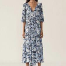 Ganni Floral vestido de crepe [36]
