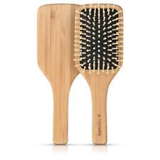 Brosse à cheveux bois de bambou -  Brosse démêlante coiffante femme homme enfant