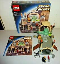 lego star wars 4480 jabba's palace 100% complete used mint 2003