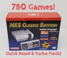 Nintendo NES Classic Edition - 780 Games - Quick Reset & Turbo Mods