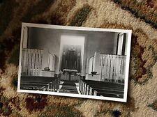T2-1 postcard unused old millbrook jersey interior st matthew's church