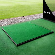 FORB Driving Range Golf Practice Mat (Optional Rubber Base) - Golf Stance Mat