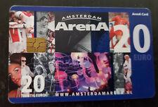 Amsterdam Arena Card 2009 Amsterdam Arena 20 euro