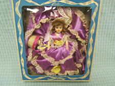 "Vintage ""Dolls of all Nations"" Flower Girl Doll 7-1/2"" tall USA MIB"