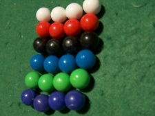 24 Color Replacement Hollow plastic MARBLES marble set Aggravation & Others TC