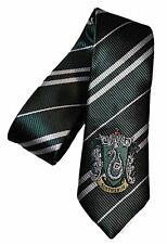 HARRY POTTER SLYTHERIN CREST NECK TIE FOR COSPLAY